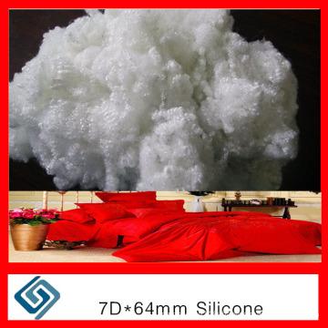 7D Virgin Semi-Dull Polyester Staple Fiber for Yarn From China
