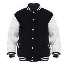 manga larga nuevo diseño niños varsity chaquetas