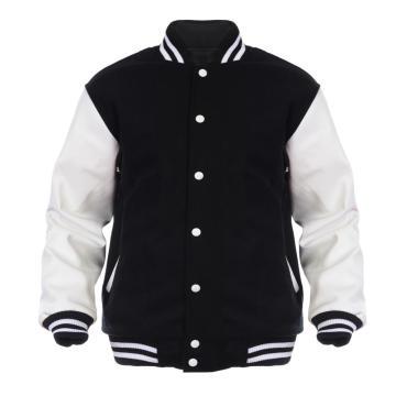 chaquetas casuales del varsity del algodón de la alta calidad