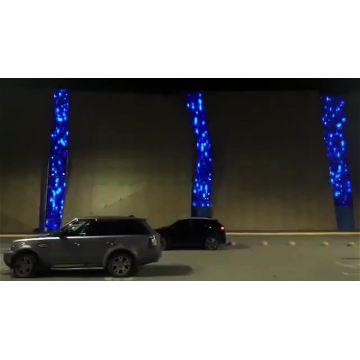 Facade Lighting Programmable led Light  Curtain