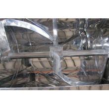 Mezclador de la forma de la ranura de la serie de 2017 CH, secador de vacío cónico de los SS, fabricantes del mezclador horizontal de la cinta