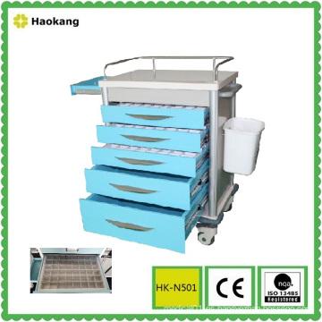 Muebles de hospital para el carro de la entrega de la droga (HK-N501)