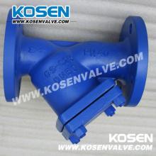 DIN Cast Steel Y Type Strainer (YG41H)