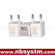 Cargador de batería USB para móviles, salida 5V 1A