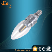 Mejor precio LED bombilla de emergencia/4W E14 LED luz de las velas