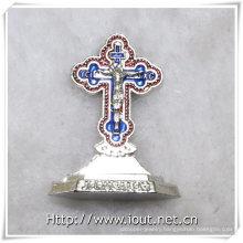 Jesus Christ Cross Crucifix Statue (IO-ca095)