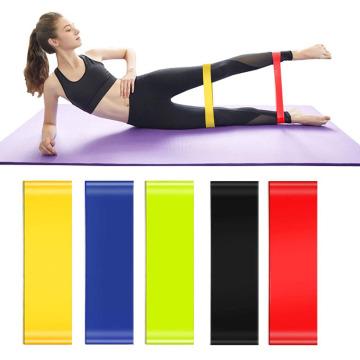 Conjunto de bandas de bucle de resistencia de ejercicio de gimnasio Fitness