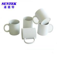 6унц белый с покрытием керамической сублимации кружки (SKB33)