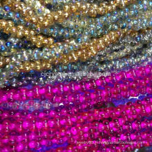 Perle de verre colorée recouverte de pujiang, perles de conception les plus récentes pour bijoux, perles japonaises de haute qualité, perles lisses et lisses