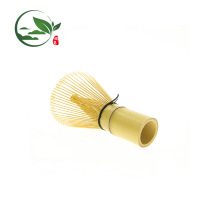 Matcha Whisk Matcha Conjunto de Chá Shu Sui Bambu Dourado