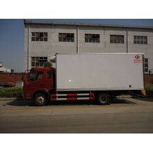 Dongfeng insulation used refrigerated truck bodies for sale