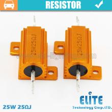 Resistor/Canbus LED bulbs 25W 50W 100W 25RJ braking resistor