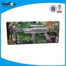 Arma de brinquedo sniper, arma de brinquedo para meninos, disparando armas de brinquedo de plástico com som