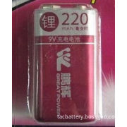 9v 350mah Lithium Ion Cylindrical Battery , Electronic Scale
