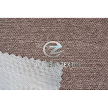 New Slub Velvet Bonded Knitted Fabric with Uneven Thickness Suface for Sofa Use
