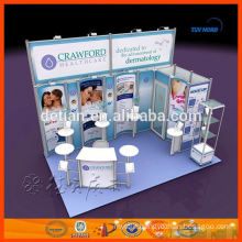 modular aluminium fair exhibition booth for hire
