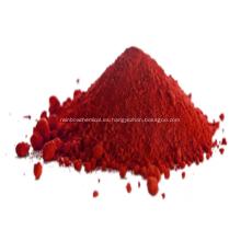 Polvo de color rojo de cerámica de óxido de hierro