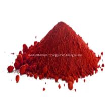 Poudre de couleur céramique rouge oxyde de fer