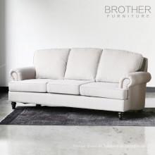 último diseño de tufting sofá seccional de la sala de estar