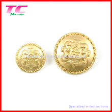 Custom Gold Military Sewing Button for Quality Garments