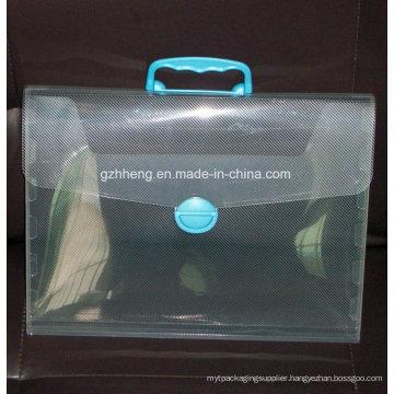 Factory custom printing plastic bag for file (PP file bag)
