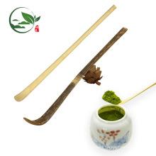 Respetuoso del medio ambiente hecho a mano cuchara de bambú Matcha