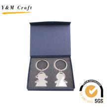 Nouveau design adapté aux besoins du client Keychain de promotion pour l'ensemble-cadeau (Y03046)