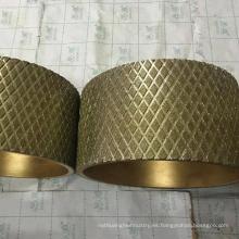 rueda de disco abrasiva del diamante de alta calidad del precio de fábrica para el forro de freno