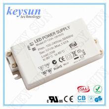 6W 250mA 12V Konstante Spannung LED-Treiber Stromversorgung mit CE UL cUL