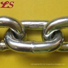 DIN766 Galivanisierte und ungaliserte Eisen kurze Gliederkette