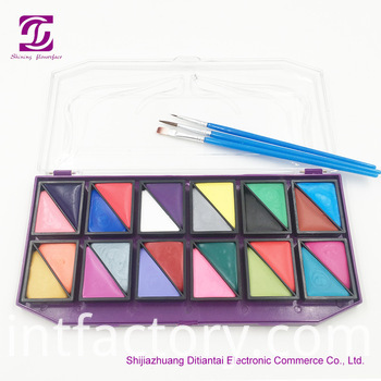 Face Paint 24 Colors Sets