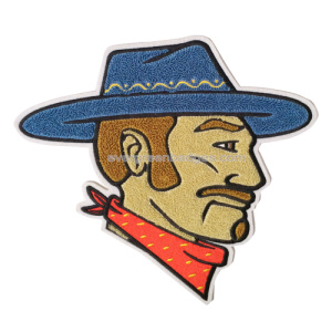 Cowboy Professional Chenille Patch