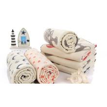 Manta de muselina Babyswaddle de algodón de alta calidad respetuoso del medio ambiente respetuoso del medio ambiente