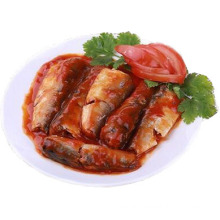 Hot Selling 425g Canned Sardine in Tomato Sauce