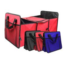 Organizador multiuso dobrável armazenamento de carro saco porta-malas