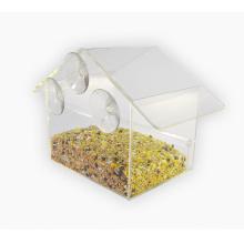 Window Suction Cup Clear Acrylic Bird Feeder