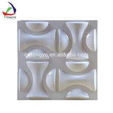 panneaux décoratifs en plastique de revêtement mural de thermoformage de PVC