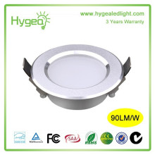 Neues Design führte Downlight 10W 12W 15W Anti-Nebel-Downlight Energiesparendes Downlight