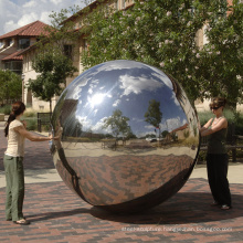 modern city decoration sphere globe sculpture decoration jardin acier