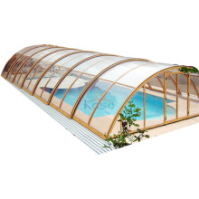 Remote Control Transparent Pvc Automatic Swimming Pool Cover