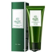 Natural Organic Skin Care Foaming Acne Amino Acid Facial Cleanser Vegan