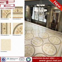 Venta caliente producto pulido piso de porcelana para Lobby del hotel