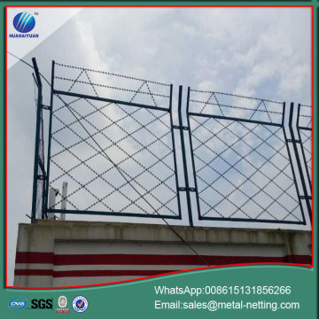 Soldado razor fence razor welded bladed fence