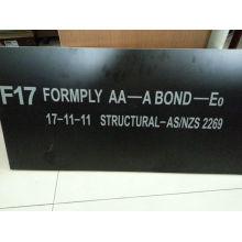F17 Опалубка для опалубки для рынка Новой Зеландии