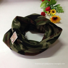 Army Green Fleece Neck Warmer Scarf Fleece Knitted Military Neckerchief