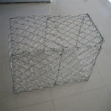 Muro de contención de caja de gaviones galvanizados