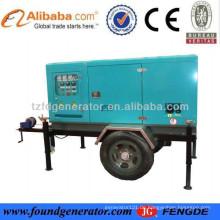 2015 Fabrik Preis von CE, ISO genehmigt mobilen Dieselgenerator mit drei oder vier Rädern
