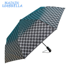 Commercial Affairs Festival Promotion Gifts Low Cost Special Handle Black Fashion High Quality Auto Open Men's Rain Umbrella
