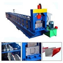 china hebei galvanizado canal de lluvia de agua de acero sin costura de aluminio que forma la máquina para la venta con buen precio