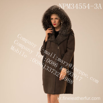 스페인 Merino Shearling Coat Winter